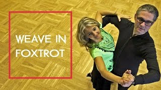 How to dance Foxtrot Basic? | Weave and Routines