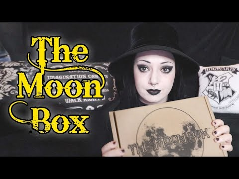 Moon Box Unboxing #6 - Witchy Subscription Box! | Toxic Tears