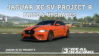 Real Racing 3 Jaguar XE SV Project 8 Price & Upgrades RR3