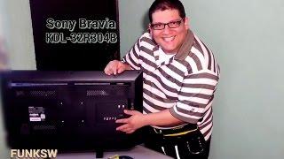 Sony Bravia KDL-32R304B Unboxing, Review e Instalacion 1 de 2