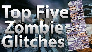 top 5 glitches in call of duty zombies black ops 2 zombies black ops waw zombies