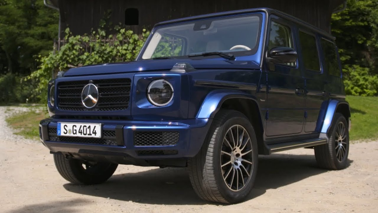 2020 Mercedes Benz G Class Stronger Than Time Edition Unveiled