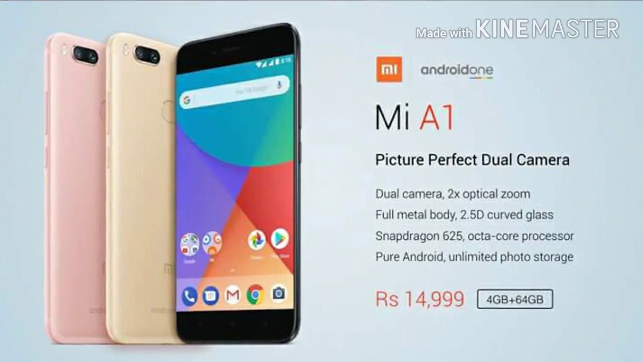 Launch Möbel Redmi Mi A1 Mi New Launch Mobile With Price And Specifications 2017