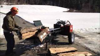 "Built-rite 11 Hpws Wood Splitter W/ 48"" Stroke"