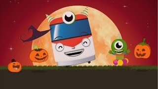 Kids Songs l Halloween Trains l Nursery Rhymes l TITIPO TITIPO