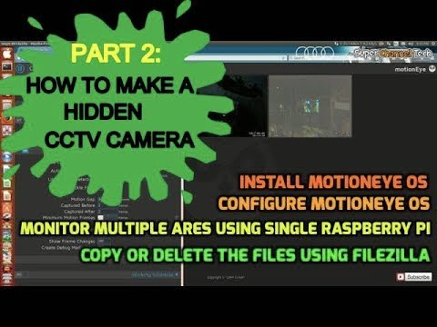Install and Configure MotionEye on Raspberry Pi