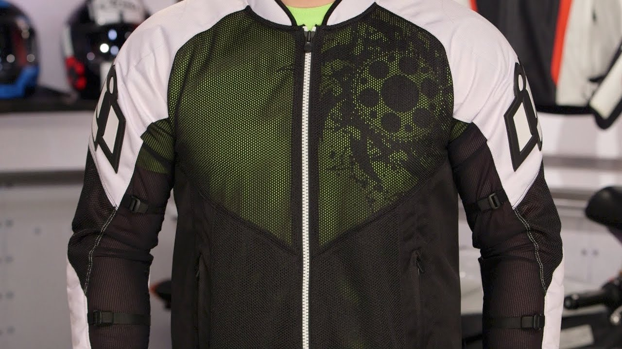 cfae0f28f9e2 ICON Mesh AF Jacket Review at RevZilla.com - YouTube