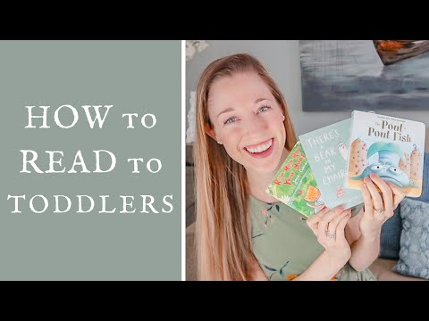 How to Get Toddlers to Sit and Read with You: Tips from a Speech Therapist   Learn With Adrienne
