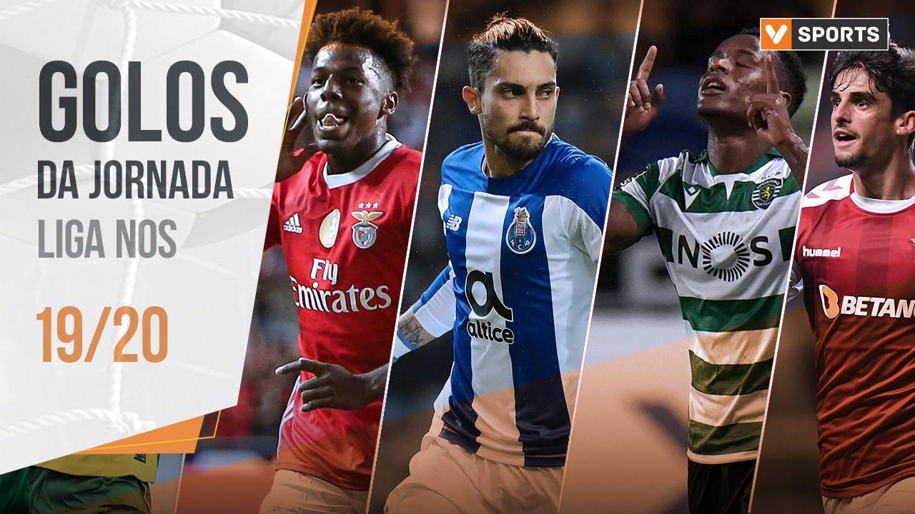 Liga 19/20: Os 34 golos da jornada
