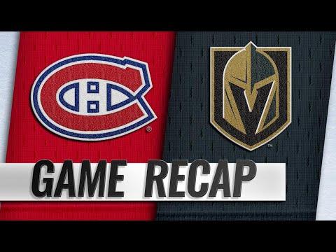 Danault tallies hat trick in Canadiens' OT win