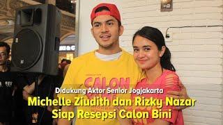 Michelle Ziudith dan Rizky Nazar Siap Resepsi Calon Bini