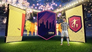 OPENING GUARANTEED BOARD DROP PACKS WITH AN INSANE WALKOUT!! FIFA 18 81+ PACK OPENING