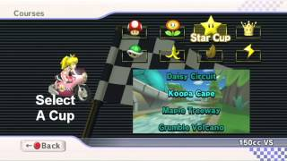 Mario Kart Wii Interactive Texture + Music Pack Download - Main Menu