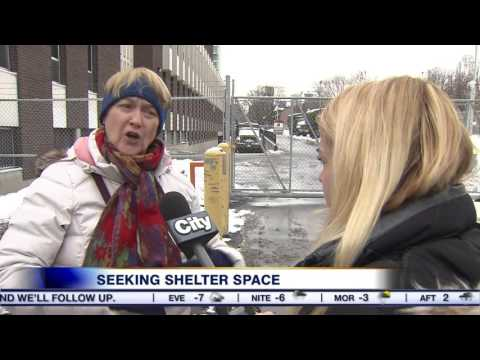 Video: Street nurse calls for the city to open the armoury for shelter space