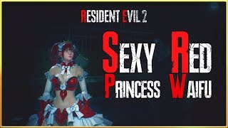 Sexy Red Princess Waifu For Resident Evil 2 Remake