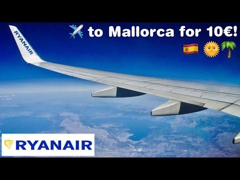 RYANAIR   Madrid To Palma De Mallorca • Flight Experience ✈