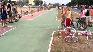 I Raduno Di Bici A Scatto Fisso Città Di Cesenatico
