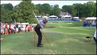 Tiger Woods Swing Analysis Wyndham Championship 2015