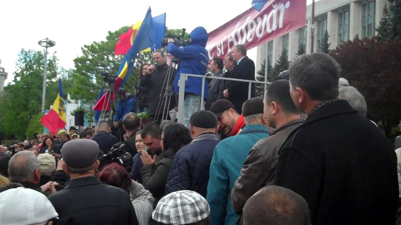 Chirtoacă dădea tîrcoale protestului din #PMAN