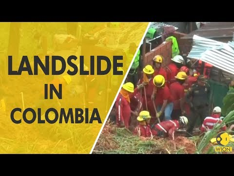 Landslide kills nine in Colombian town