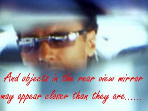 Meat Loaf - Objects in the rear view mirror..with lyrics. Full version