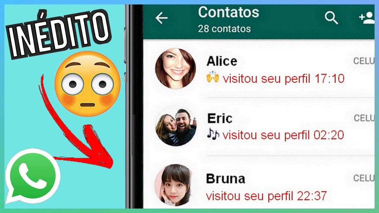 Truques Novos Do Whatsapp Descubra Quem Visitou Seu Perfil No
