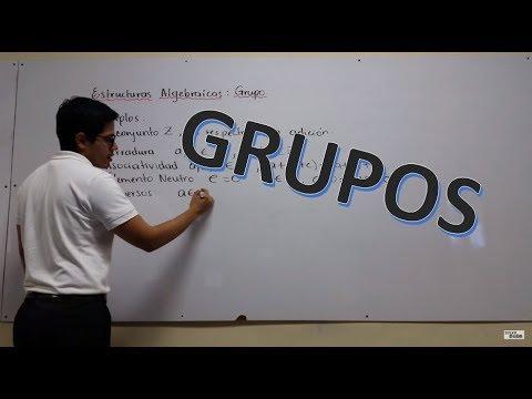 Estructuras Algebraicas Grupos