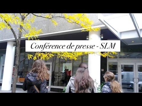 VLOG - Conférence de presse du Salon du Livre de Montréal // 2016
