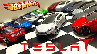 Hot Wheels Tesla Collection
