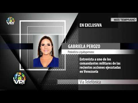 """Juvenal Sequea Torres sobre acciones militares para el""""cese de la usurpación"""" - VPItv - Parte 1"""