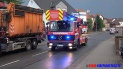 [Brand in Werkstatt] Einsatzübung der Feuerwehr Nidderau Ostheim