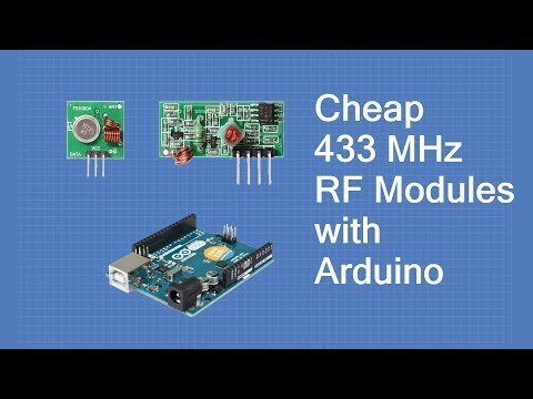 Using Inexpensive 433 MHz RF Modules with Arduino