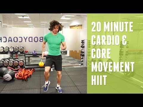20 Minute Cardio & Core HIIT | The Body Coach