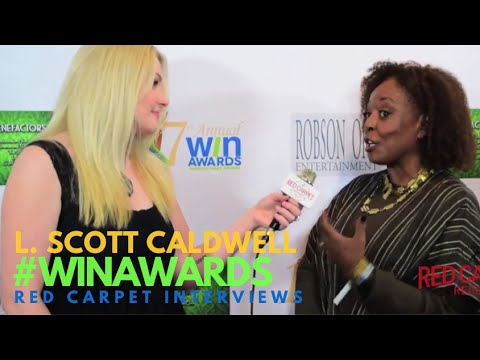 L Scott Caldwell MercyStreet PBS Amazon at the 17th Annual Women's  Awards WINAwards17