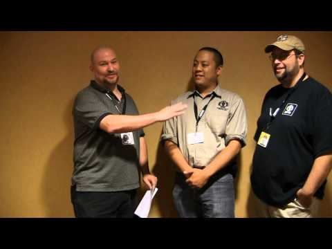 Heavy Gear interview with John Nguyen and Jason Dickerson at Gen Con 2012