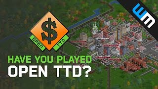 Have you played Open TTD (Transport Tycoon Deluxe)?