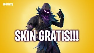 HOW TO GET THE *CUERVO / RAVEN* OF FORTNITE BATTLE ROYALE FOR FREE!! | *TIP* TO GET IT