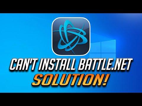 Can't Install The Blizzard Battle.net App Fix [2020]