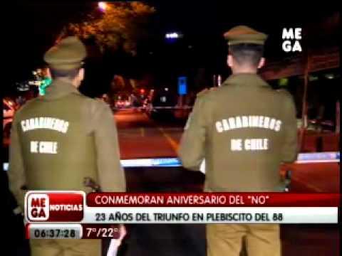 [MEGA] Bombazo contra Municipalidad de Providencia (6/OCT/2011)из YouTube · Длительность: 30 с