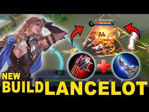 New Build Lancelot Yang Ini Sakit Banget Kuat Lawan 1 Vs 5 - Mobile Legends Indonesia