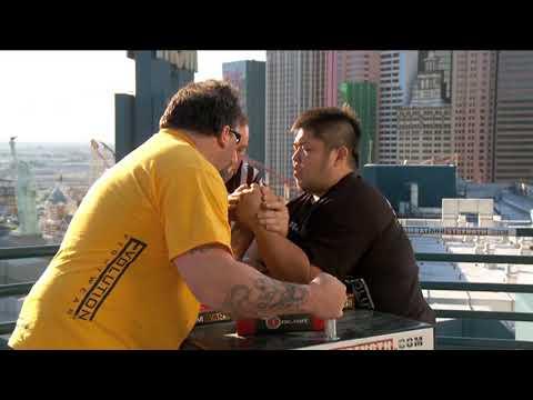 Arm Wars | Armwrestling | Tim Bresnan USA V Yoshi Kanai JAPAN | Left