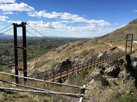 Bear Canyon Suspension Bridge - Draper, UT