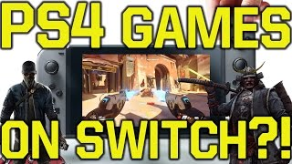 Nintendo Switch Games - Playstation 4 Games  Ps4 Games  On The Nintendo Switch?!  Switch Games