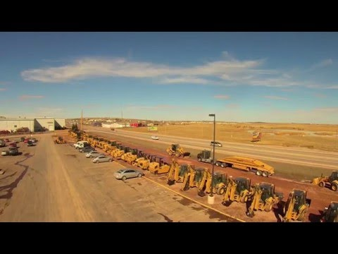 """Wyoming Machinery """"Gillette Store"""" fly by with Q500 Typhoon"""