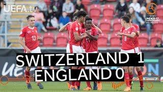 U17 highlights: Switzerland v England