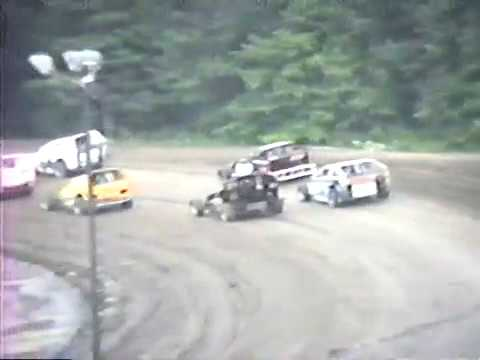Albany-Saratoga Speedway - July 13, 1990 - Video 1 of 3
