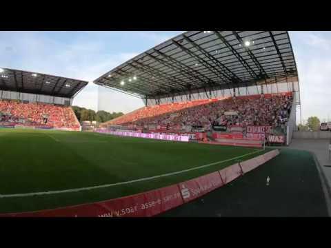 """Rot-Weiss Essen: Konfetti Intro Der """"West"""" Gegen Wattenscheid 09 23. August 2019"""