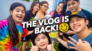 THE VLOG IS BACK!! (Welcome To Our Life!) | Ranz and Niana