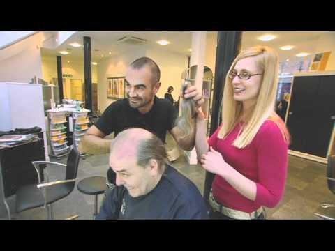 Andrew Barton restyles Tony's hair - 10 Years Youn...