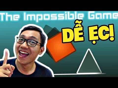 Sơn Đù CHỈ 1 LẦN THỬ LÀ THẮNG GAME GIỐNG GEOMETRY DASH  - The Impossible Game (Sơn Đù Funny Moments)